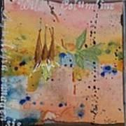 Texas Wildflowers Tp Z Art Print