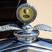 Hot Rod Car Instrument Detail Art Print