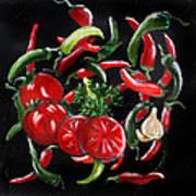 Hot Salsa Art Print