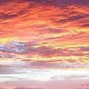 Hot Sky Art Print