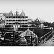 Hot Springs Arkansas Panoramic Art Print by Retro Images Archive