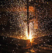 Hot Steel Art Print