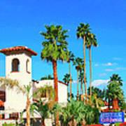 Hotel California Palm Springs Art Print