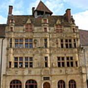 Hotel De Ville - Paray Le Monial Art Print
