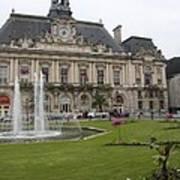 Hotel De Ville - Tours Art Print