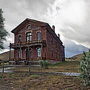 Hotel Meade - Bannack Ghost Town - Montana Art Print