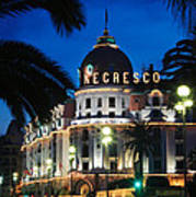 Hotel Negresco Art Print by Inge Johnsson