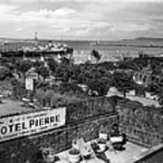 Hotel Pierre Dun Laoghaire 1958 Art Print