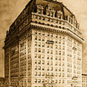 Hotel Pontchartrain Detroit 1910 Print by Mountain Dreams