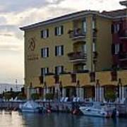 Hotel Sirmione. Lago Di Garda Art Print