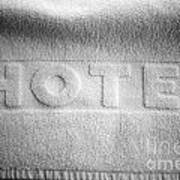 Hotel Towel Art Print
