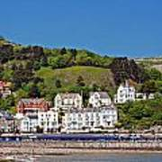 Hotels And Guesthouseson Great Orme Llandudno Wales Uk Art Print