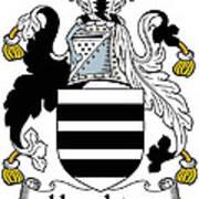 Houghton Coat Of Arms Irish Art Print