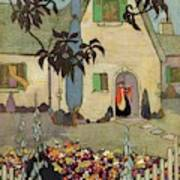 House & Garden Cover Illustration Of An Art Print