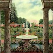House And Garden Cover Art Print