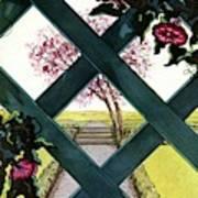 House And Garden Household Equipment Art Print