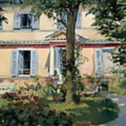 House At Rueil Art Print