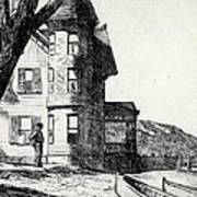 House By A River Print by Edward Hopper