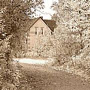 House In Autumn Art Print