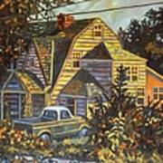 House In Christiansburg Art Print