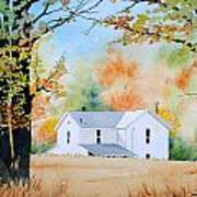 House In The Meadow Art Print
