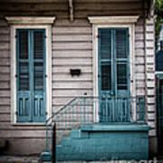 House Of Blue Doors Art Print