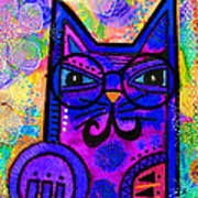 House Of Cats Series - Paws Art Print