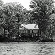 House On An Island Art Print by Thomas Fouch