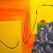House On The Edge Of Aliveness Art Print