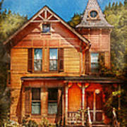 House - Victorian - The Wayward Inn Art Print