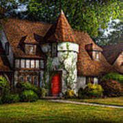 House - Westfield Nj - Fit For A King Art Print