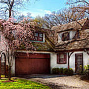 House - Westfield Nj - Who Doesn't Love Spring  Art Print