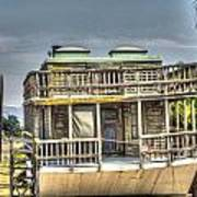 Houseboat 3 Art Print
