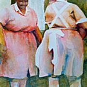 Housekeepers Of Soniat House Art Print