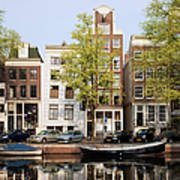 Houses In Amsterdam Art Print
