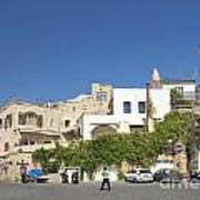 Houses In Jaffa Tel Aviv Israel Art Print