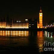 Houses Of Parliament - London Art Print