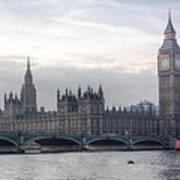 Houses Of Parliament Art Print