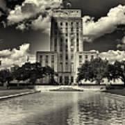 Houston City Hall Art Print