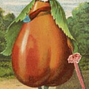 How Do I A Pear Art Print