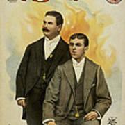 Howard And Stevens In Their Illustrated Songs Art Print