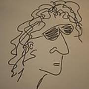 Howard Stern Art Print