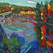 Howry Creek Campsite Art Print