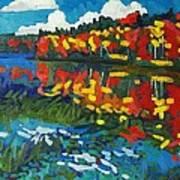 Howry Creek Art Print