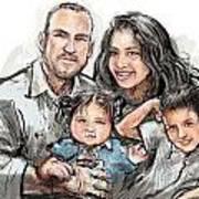 Hoy Family Art Print