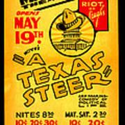 Hoyts A Texas Steer Art Print