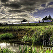 Hst In The Culm Valley  Art Print