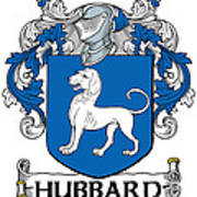 Hubbard Coat Of Arms Cork Ireland Art Print
