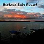 Hubbard Lake Art Print
