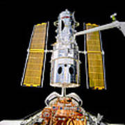 Hubble Space Telescope Redeployment  Art Print